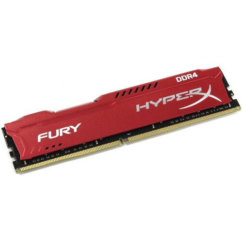 Модуль памяти Kingston HyperX Fury DDR4 DIMM 16 Гб PC4-21300 1 шт. (HX426C16FR / 16)
